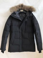 2020 Brand New Canada Style Mens real duck down thick Coat Waterproof Windstopper Winter Warm CARSON PARKA Raccoon fur