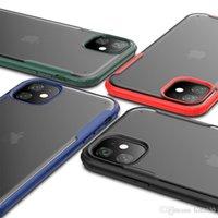 Высокое Качество TPU Полупрозрачный Тусклый Польский Чехол для iPhone 7 8 x 11 Серия Четыре Цвета Samsung Galaxy Примечание 10 Примечание 10PRO S10 S10PRO Обложка Кожа