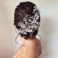Cosnoble Bridal Hair Bandeau Coiffe Crystal Coiffe De Mariage Coiffure Femmes Tiara Strass Bandeau Bande Beauté Queen Couronnes
