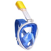 Subaquático Scuba Anti névoa Full Rosto Máscara Máscara Respiratória Máscaras Seguras Equipamento de Natação Impermeável