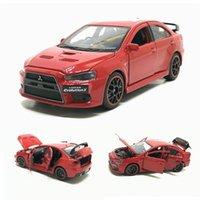 جديد 1/32 جاكسيكيم ميتسوبيشي لانسر إيفو x 10 bbs rd diecast نموذج سيارة لعب للأطفال بوي فتاة هدايا شحن مجاني T200417