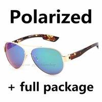 2020 Nuevos gafas de sol polarizadas voladoras Pesca de mar Gafas de alta calidad LEOPARDE TENDER DE MODA Ciclismo Gafas