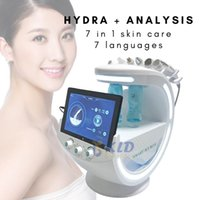 Newest 7 In 1 Smart Facial Cleansing hydrafacial skin analyze Deep Pore Vacuum Hydra face Lift Anti-aging Beauty Machine