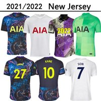 21 22 dele oğul Tottenham Eve Dound Bale Kane Futbol Jersey Hojbjerg Bergwijn Lo Celso Spurs 2021 2022 Lucas Futbol Gömlek