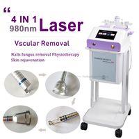 2021 Nova Aranha Viens Removel 980nm 3 em 1 máquina de laser Remoção Vascular Laser Médica Remoção Vascular Fisioterapia