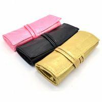 Escova de prego saco lápis caso titular desenho bolsa de maquiagem para escovas de armazenamento impermeável compõem caso lavagem saco de higiene u2rt #
