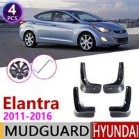 Auto MudFlaps per Hyundai Elantra MD 2011 2012 2013 2014 2015 2015 Fender Fonder Guard Flap Splash splash flaps parafanghi accessori