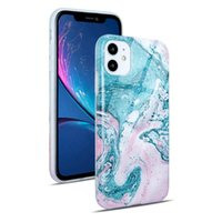 Newest Painted Marble Pattern Soft Tpu Mobile Phone Cases for iphone 12 13 mini 11 Pro XS Max XR 7 8 plus fashion beautiful young girl cover case