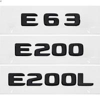 Autoadesivi per il coperchio del tronco posteriore dell'auto per Mercedes Benz e classe E63 E200 E200L W110 W114 W115 W123 W124 W210 W211 W212 W213 A207