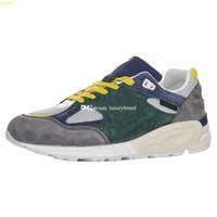 M990v2 Sneaker per gli uomini Sneakers Sneakers Sneakers Mens Scarpe sportive Donne da corsa Scarpe da donna Scarpe DaNeans Allenamento Uomo Allenamento Donna Athletic Chaussures M990La2