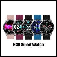2020 Neuankömmlinge H30 Smartwatch Gesundheit Übung Tracker Weibliche Physiologische Erinnerung Pedometer Custom Dial SiteTary Erinnern DIY Watchface