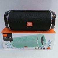 TG116 Bluetooth Altavoz portátil Bluetooth Doble cuerno Mini al aire libre impermeable Altavoces inalámbricos Soporte TF Tarjeta USB FM Radio