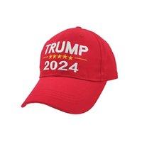 2024 Trump Hat Presidencial Elección de letras Impresas Gorras de béisbol Impresas para hombres Mujeres Sport Ajustable Trump TRUTH EEUU HIP HOP PEOK CAP CABE DE LA CABEGRA G3202