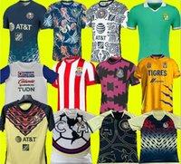 حجم S-4XL Liga MX 21 22 Club America Soccer Jerseys Leon Third 2021 2022 المكسيك Léon Tijuana Tigres Unam Chivas Guadalajara Cruz Azul كرة القدم