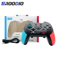 Game Controllers & Joysticks Dropship Wireless Controller For Switch Bluetooth Gamepad NS Joystick