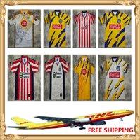 DHL UPS 99 00 08 Chivas 96 97 98 Kaplanlar Retro Futbol Formaları Boyutu S-XXL