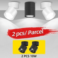 Track Lights Foldable COB Led Surface Mounted Spotlights Adjustable Angle Lighting Spot For Home Kitchen Store