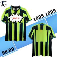 1998 1999 Şehir Uzaktaşı Gömlek Retro Futbol Formaları Lee Crooks Goater Vaughan Wiekens Horlock 98 99 Klasik Retro Futbol Gömlek