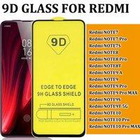 Red Mi Redmi Note 7 Pro 7S Note 8 8T Note 9 9A Max 9S 9T NOTE10 10 PRO 9D 풀 커버 강화 유리 화면 보호기