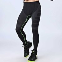 Men Gyms QUICK-DRY Workout Compress Leggings Bodybuilding Sporting Runs Slim Fitness Yogaing Clothing Tights Pant MA05 Y0811