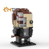 Moc Terminator BrickHeadz Simulação Figura Modelo Pequeno Decoração Blocos de Construção DIY 148 Pcs Brinquedos Brinquedos Educacional Xmas Presente H0917