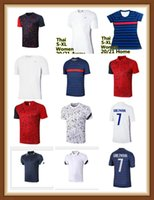Benzema 20 21 EU RO Tasse 2 Sterne # 10 Mbappe Fussball Jersey 2021 Home # 7 Griezmann Pogba Away White Shirt 13 Kante Football Uniform