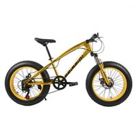 دراجات 20 بوصة الدهون الدراجة الأطفال كيد الإطارات الجبلية شاطئ كروزر دراجة عالية الجودة الكربون الصلب القرص الفرامل عجلة كبيرة mtb1