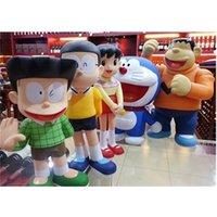42cm Grand Doraemon Dingdang Robot Cat Panghu Technology Safety Family Photo Manuelle Modèle