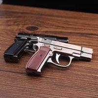 Creatity Mini Pistolen Feuerzeug Jet Flame Taschenlampe Kitchen Riese Schwerlastung Nachfüllbar Mikrokulinarisches Licht Für Rauchen Winddicht LED-Feuerzeug DWF5263
