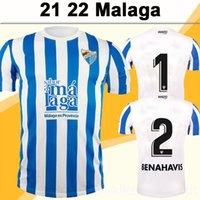 21 22 Malaga Juande Jairo Mens Soccer Junsys Jozabed Ismael Alexander Javi Jimenez الصفحة الرئيسية أبيض أزرق قصير