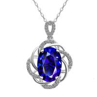 HBP Fashion Shi Pei Zhi's Nuevo patrón con incrustaciones con temperamento de zircon collar de lujo hueco de diamante completo colgante joyería de mujer