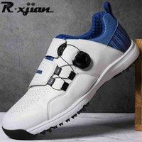 Zapatillas de golf R. Xjian Caballeros Zapatos Zapatillas al aire libre Hombres Marca 0908