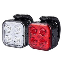 Bike Lights Ultra Bright Light Set USB Rechargeable Front And Back Waterproof Mountain Taillight LED Bicycle Safety