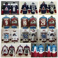 2021 Reverse Retro Colorado Avalanche Eishockey 8 Cale Makar 19 Joe Sakic 29 Nathan Mackinnon 92 Gabriel Landeskog 96 Mikko Rantanen Jersey