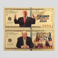 Die Trump 2024 Goldblatt-Banknotenparty unterstützt die US-Präsidentenkampagne, indem Sie Dollar-Gedenkkupons sammeln