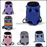 Pet Supplies Home & Gardenpet Carrier Dog Front Chest Backpack Mesh Cat Puppy Carriers Sling Bag Dogs Carry Tote 11 Colors Optional Ywy3951