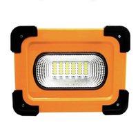 태양 램프 szyoumy 휴대용 LED 작업 빛 조명 28000lm smd5730 홍수 9000mAh 전원 은행 램프