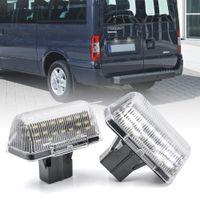 2 قطعة LED رقم الترخيص لوحة ضوء لفورد العبور MK6 MK7 1985-2013 لفورد العبور اتصال 2002-2013 OEM # 4388111