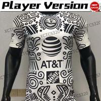 لاعب نسخة MX الدوري كلوب أمريكا الثالث لكرة القدم الفانيلة MX نادي F. Viñas هنري جيوفاني 2021 الرجال قصيرة الأكمام لكرة القدم قميص مخصص