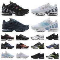 Nike Air Max Plus 3  tn III erkekler koşu ayakkabıları tn3 üçlü beyaz siyah hiper og abd neon Crimson Red Michigan erkek eğitmenler spor ayakkabı nike air max tn artı airmax