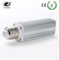 Lâmpadas 10 pçs / lote E27 G24 G23 PL LED Lâmpada 12W SMD 60 LEDs Chips Downlight Lâmpada Bombilhas 110V / 220V Branco Quente / Branco Alta Potência