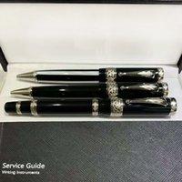 Yamalang Luxury Signature Ball Point Pen Black Plade Metal Henolder Business School Private Parts с логотипом