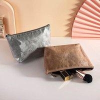 30pcs Cosmetic Bags Women TPU Dupont paper Brief Solid Large Capacity Wash Storage Bag