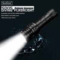 SOFIRN SD05 SCUBA DIVE LED Diving Light Cree XHP50.2 Super яркий 3000LM 21700 лампа с магнитным выключателем 3 режима