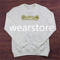 2021 Homme à capuche Sweatshirts Hommes TIGER Head Brodé Womens Automne Hiver Designers Pumpers Coups décontractés Streetwear Man S Vêtements