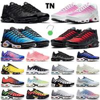 Yeni TN Artı Erkekler Koşu Ayakkabıları Kadın Eğitmenler Üçlü Siyah Beyaz Pembe Fade Hiper Mavi Dünya Çapında Duman Gri Lava Erkek Açık Spor Sneakers