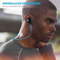 QY7 Bluetooth Earphones Wireless Earhook Sports Sweat Proof Stereo Earbuds Headsets Headphones with Mic For iPhone Smartphones