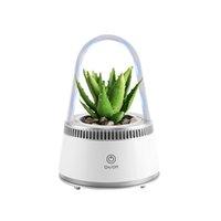 Planters & Pots Desk Lamp Hydroponic Indoor Garden Kit Smart Multi-Function Growing Led For Flower Vegetable Plant Growth Light