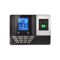 Gesichtserkennungssystem und Kennwort Fingerabdruck Anwesenheit Zeitgerät Wide Application 2,8-Zoll-LCD-Anzeige einfacher Betriebs-Plug UK
