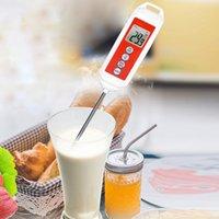 Hızlı Dijital Mutfak Termometre Et Su Süt Pişirme Gıda Probe BARBEKÜ Elektronik Fırın Araçları 508
